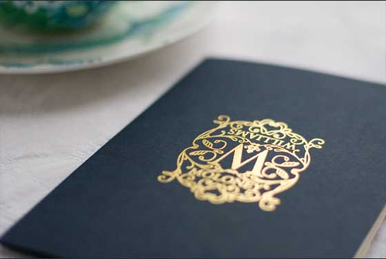 Motif Inspired Invitaion Card