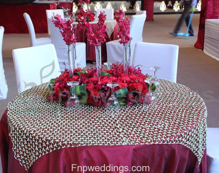 flower decorations for wedding tables